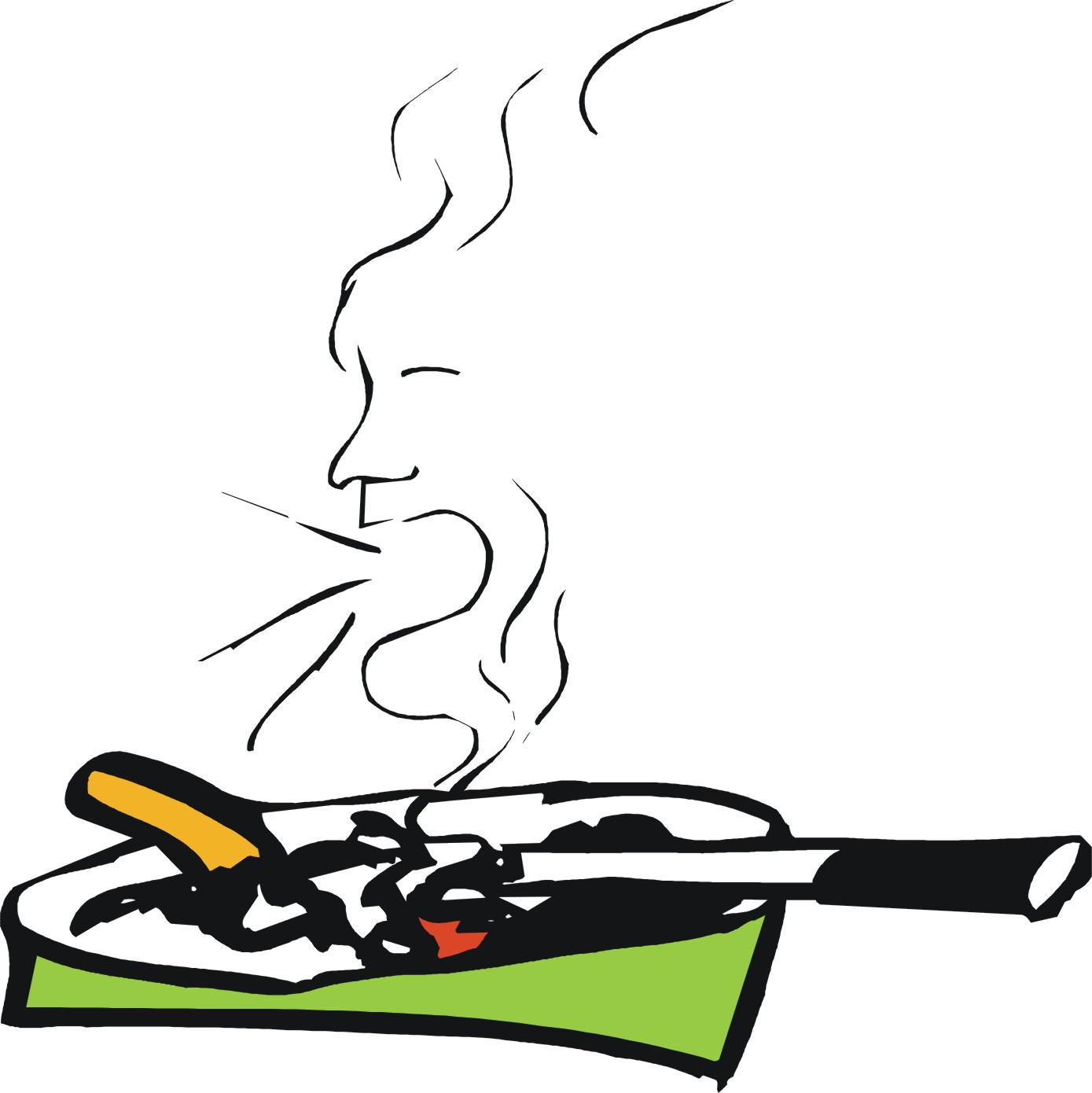 Allen karr die leichte Weise Rauchen aufzugeben, das Buch zu lesen